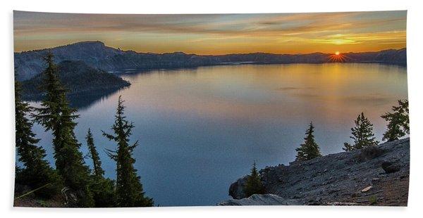 Crater Lake Morning No. 2 Beach Towel