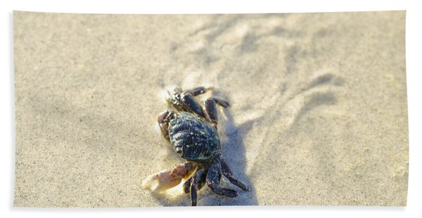 Crawling Back To You Beach Towel