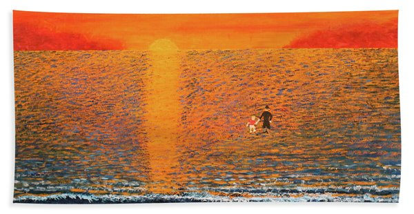 Crossing Over Beach Towel