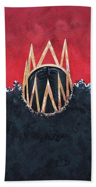 Crowned Royal Beach Towel