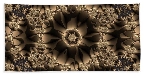 Beach Towel featuring the digital art Crystal 20 by Robert Thalmeier