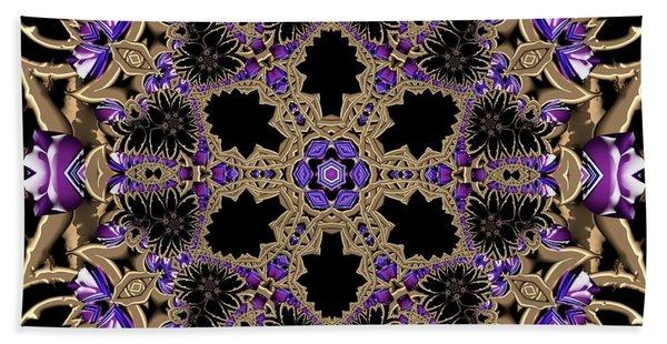 Beach Towel featuring the digital art Crystal 613433 by Robert Thalmeier