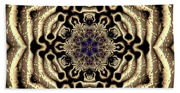 Beach Towel featuring the digital art Crystal 613455 by Robert Thalmeier
