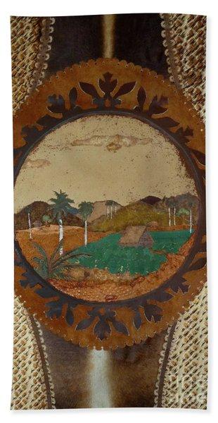Cuba Farm Wall Art Beach Towel