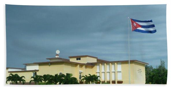 Cuban Estate 2 Beach Towel