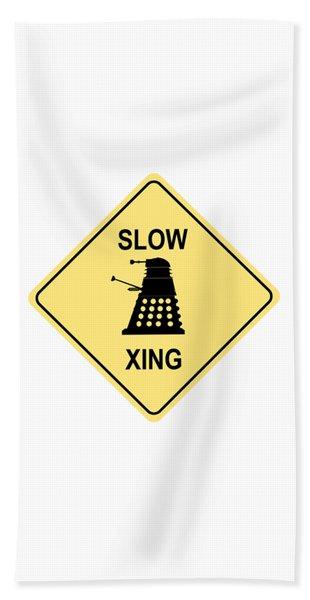 Dalek Crossing Beach Towel