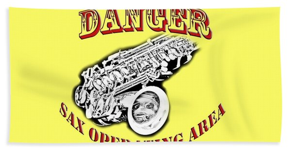 Danger Sax Operating Area Beach Sheet