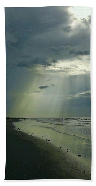 Dark To Enlightened Beach Towel