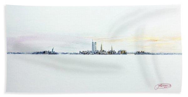 Dawn New York City Beach Towel