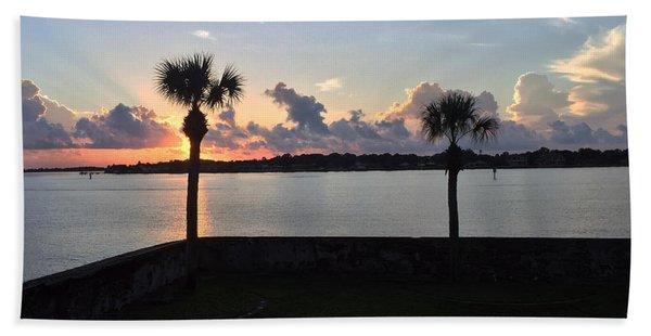 Celebrate 450 Landing Day Beach Towel