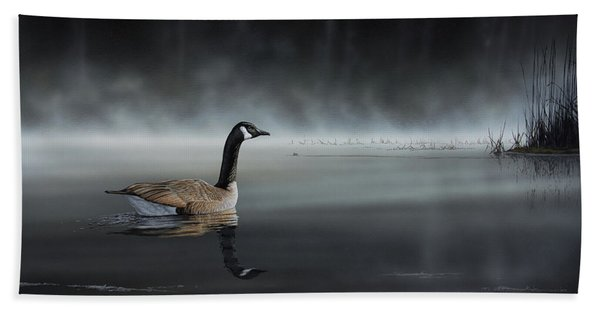 Daybreak Sentry Beach Towel