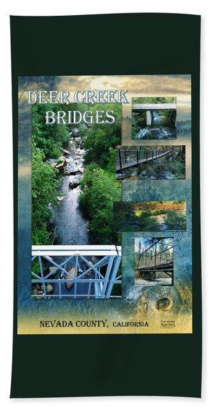 Deer Creek Bridges Beach Towel