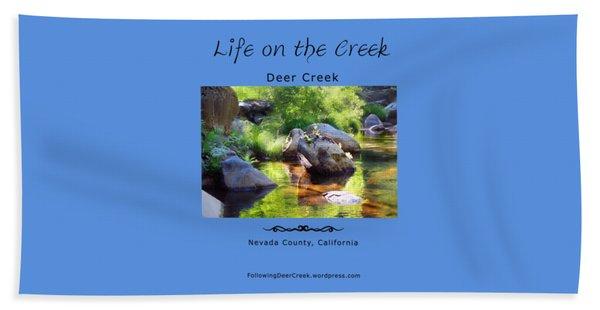 Deer Creek Ferns Beach Towel
