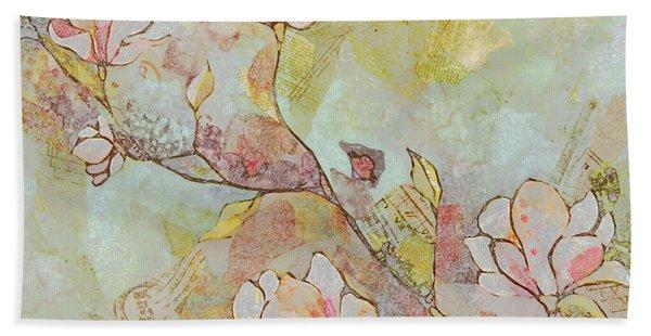 Delicate Magnolias Beach Towel