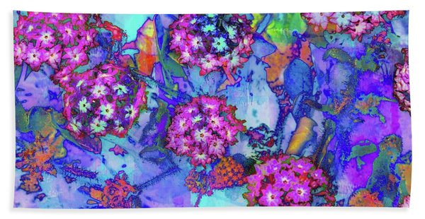 Beach Towel featuring the photograph Desert Vibe Bloom by Michael Hope