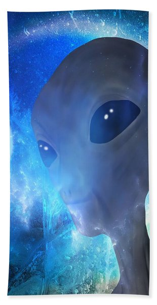 Beach Towel featuring the painting Disclosure by Mark Taylor