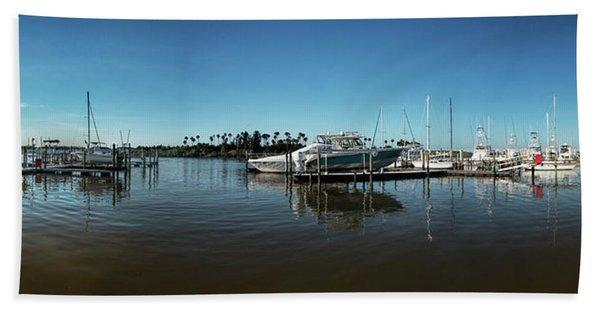 Dock In Good Repair Beach Towel