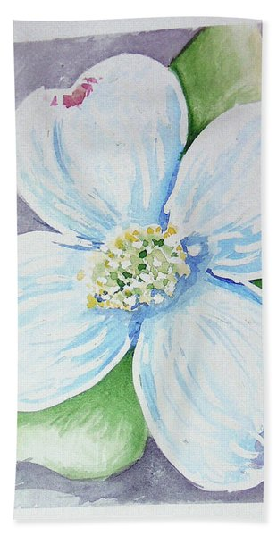 Dogwood Bloom Beach Sheet