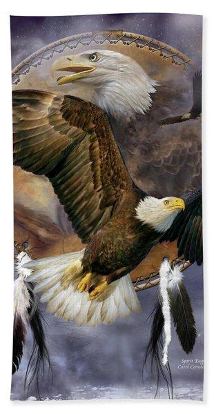 Dream Catcher - Spirit Eagle Beach Sheet