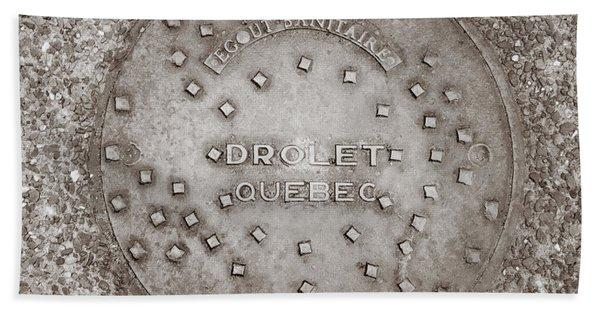 Drolet Quebec Beach Sheet