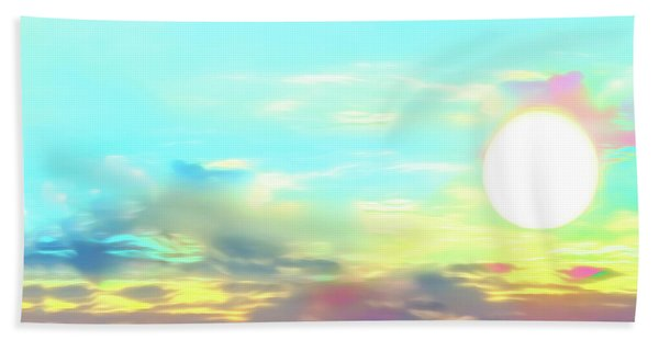 Early Morning Rise- Beach Towel