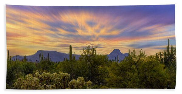 Easter Sunset H18 Beach Towel