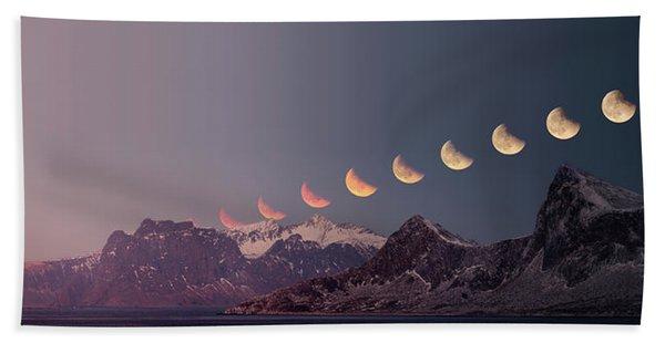Eclipse Panorama Beach Sheet