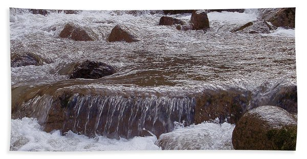 Ellenville Waterfall Beach Towel