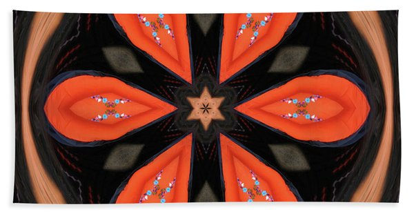 Embroidered Cloth Beach Towel