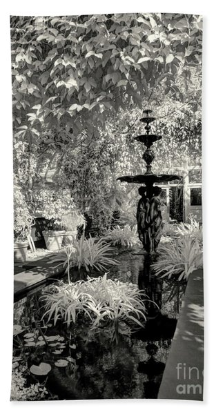 Enid A. Haupt Conservatory Beach Towel