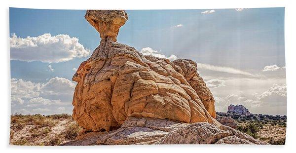 Et Rock Formation Beach Towel