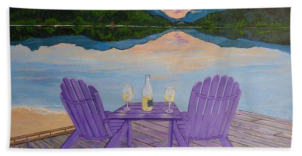 Evening Delight Beach Sheet