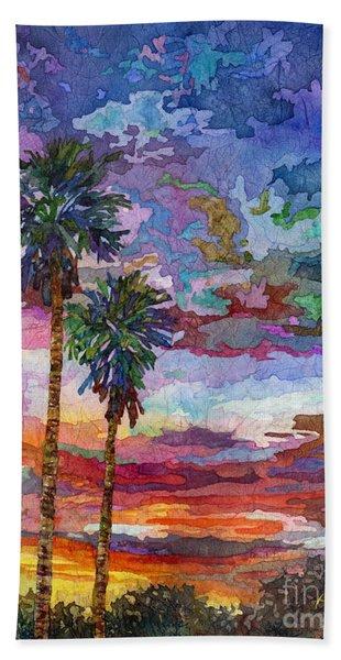 Evening Glow Beach Towel