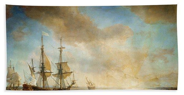 Expedition Of Robert Cavelier De La Salle  Beach Towel