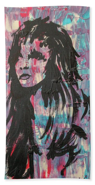 Feeling Remains Even After The Glitter Fades Beach Towel