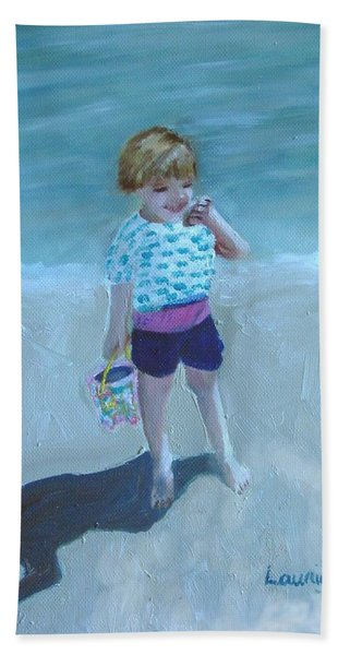 Finding Treasure Beach Towel