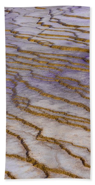Fingerprint Of The Earth Beach Towel