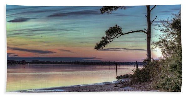 First Sunset Beach Towel