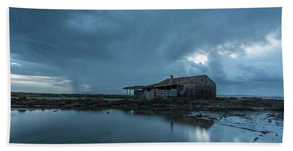 Fisherman's House Beach Towel