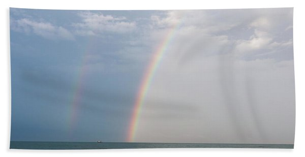 Fishing For A Pot Of Gold Beach Towel