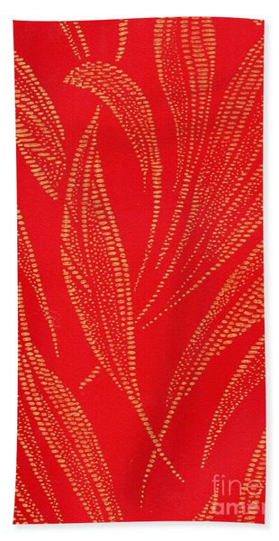 Flamework Beach Towel