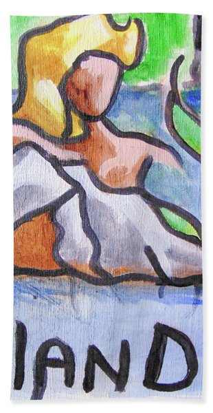 Fland Beach Towel