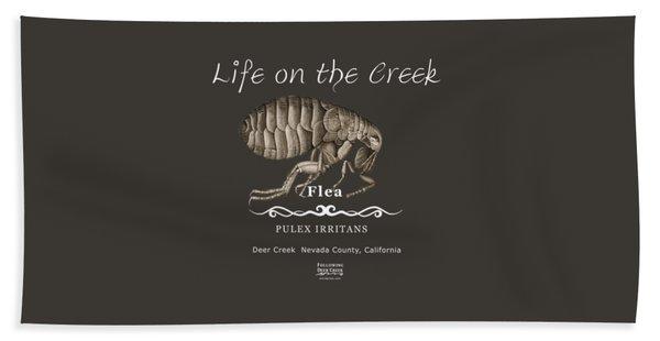 Flea Beach Towel