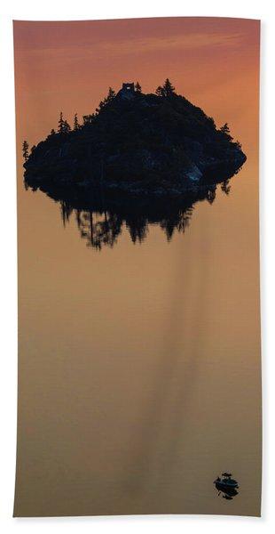 Floating Castle Beach Towel