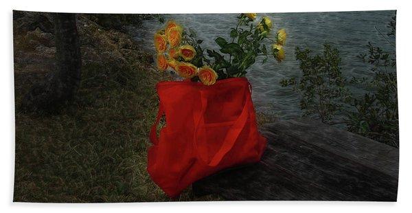 Floral Art 11 Beach Sheet