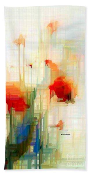 Flower 9230 Beach Towel