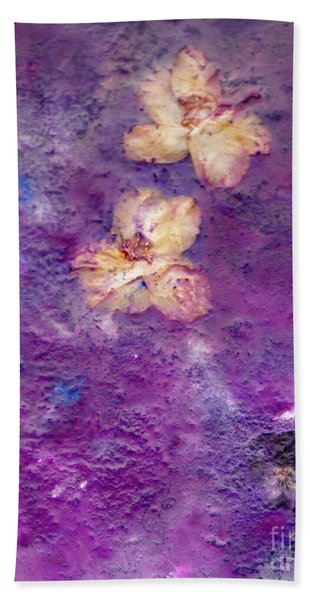 Flowers From The Garden Beach Towel