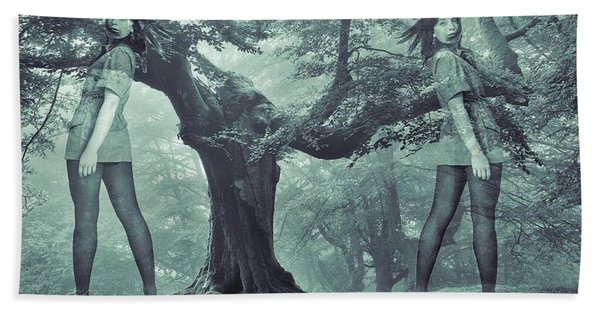 Beach Towel featuring the photograph Forest Harmony by Colette V Hera Guggenheim