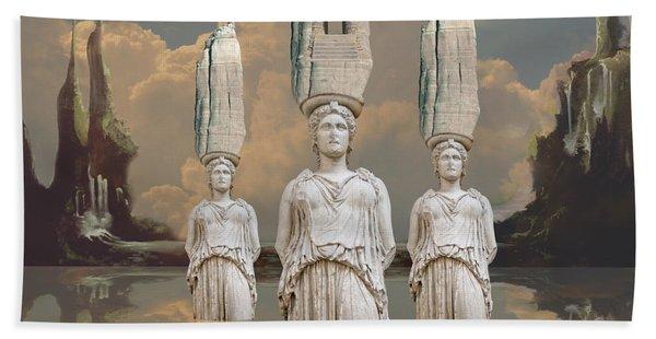 Forgotten Atlantis Beach Towel