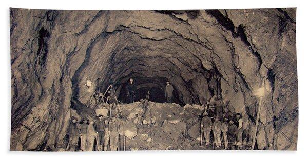 Fort George Tunnel, 1904 Beach Towel